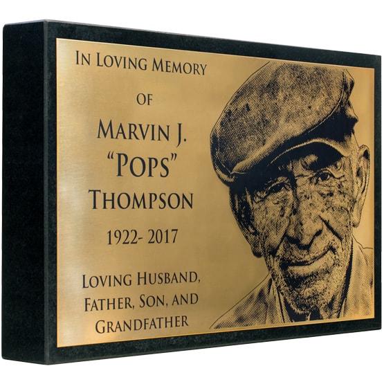 Bronze Headstone