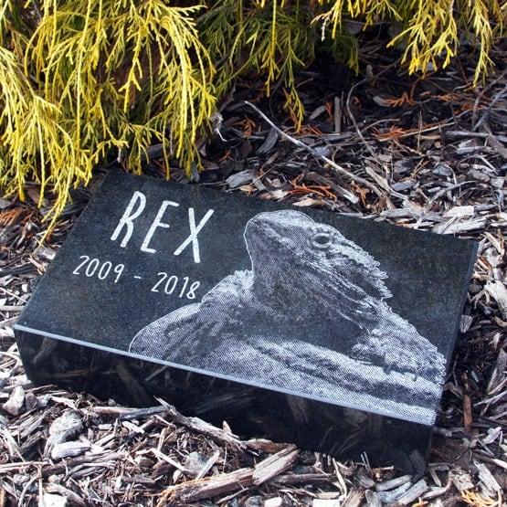 Granite Pet Headstone
