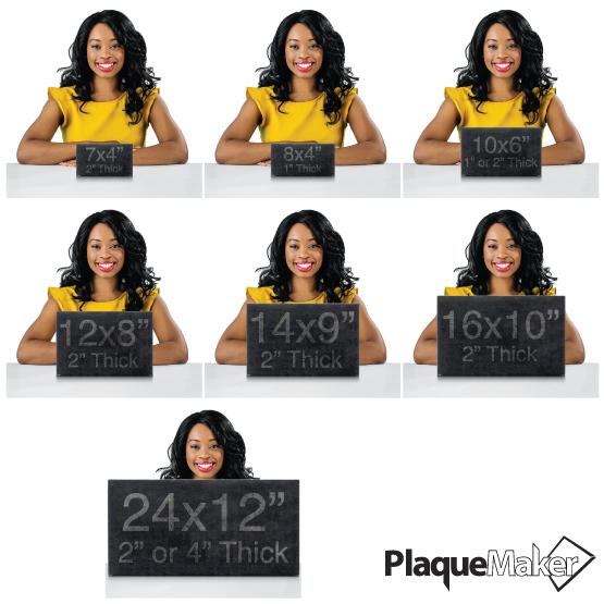 Custom Headstone Size Guide