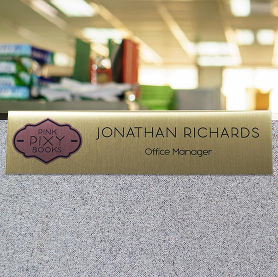 Aluminum Cubicle Name Plates