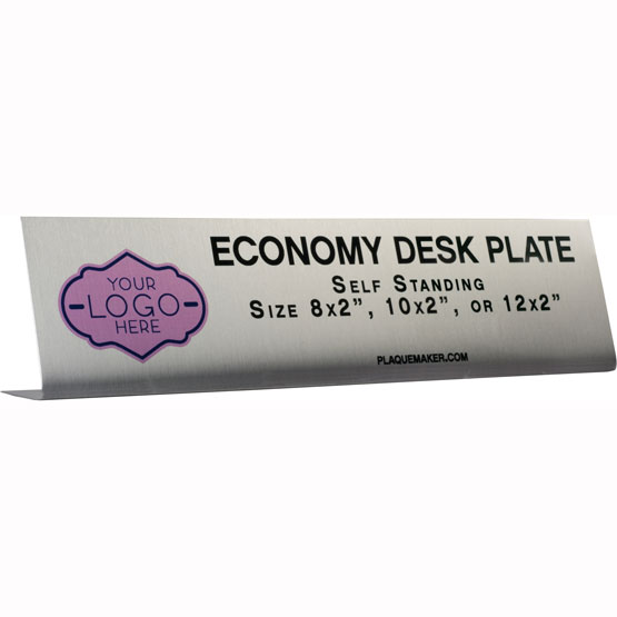 Metal Economy Desk Name Plates