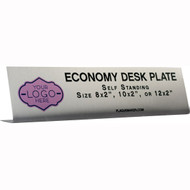 Metal Economy Desk Name Plates