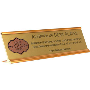 Aluminum Desk Plate