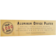 Aluminum Office Name Plates