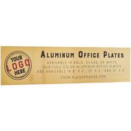 Aluminum Office Name Plates