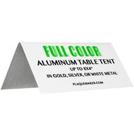 Aluminum Table Tent
