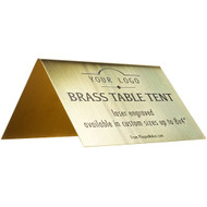 Brass Table Tent