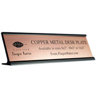 Copper Desk Plate
