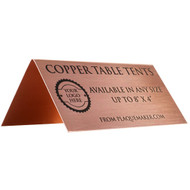 Copper Table Tent