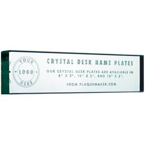 crystal name plates
