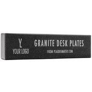 Granite Desk Name Plates