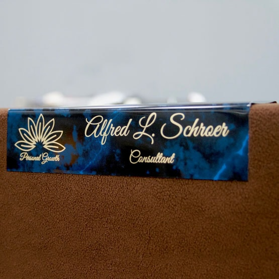 Engraved Cubicle Name Plates