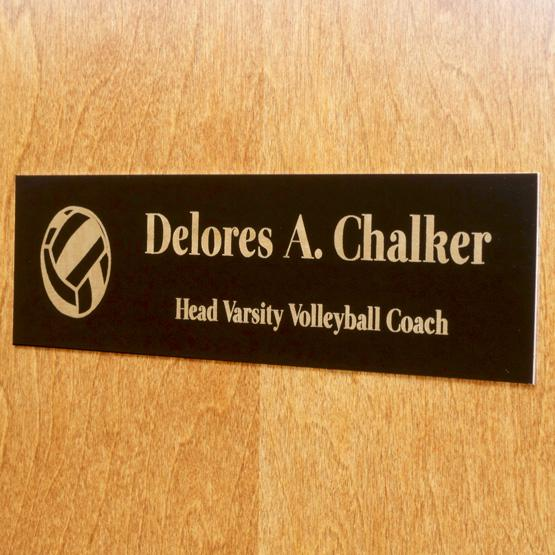 Engraved Office Name Plate With Logo, Engraved Wall Name Plates ...