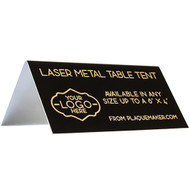 Engraved Table Tent