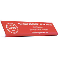 Plastic Economy Desk Name Plates