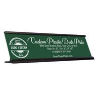 Plastic Desk Name Plates