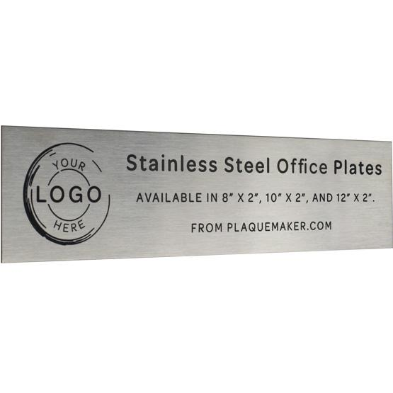 Stainless Steel Office Name Plates
