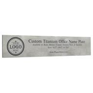 Titanium Office Plates