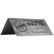 Titanium Table Tent