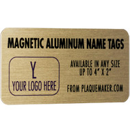 Aluminum Name Badge