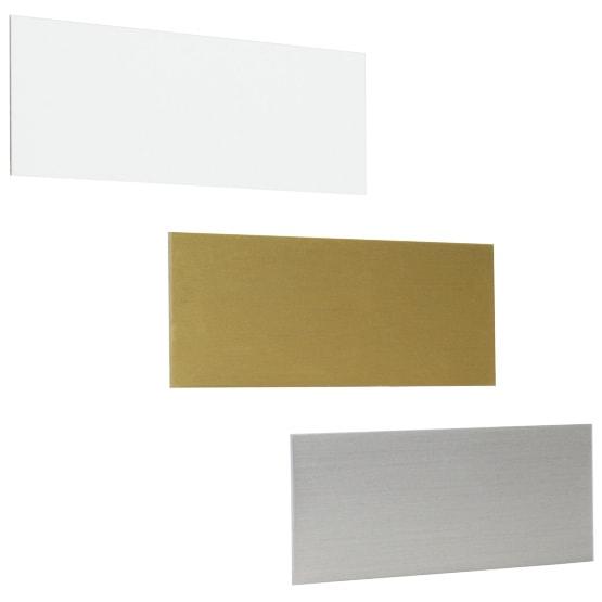 Blank metal tags