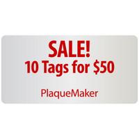 name tag sale