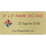 name tag sale