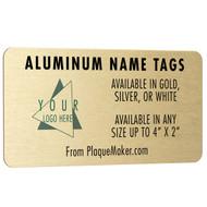 Aluminum Name Tags