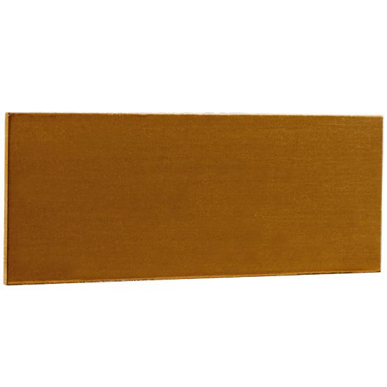 blank bronze tag