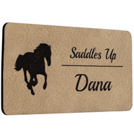Light Brown Name Tags