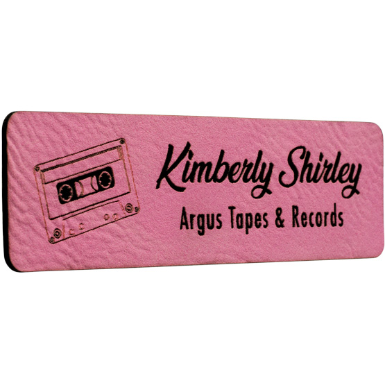Pink Name Tags