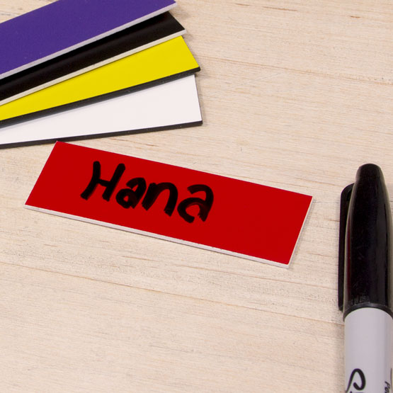 Blank Plastic Tags