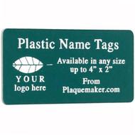 Plastic Name Tag