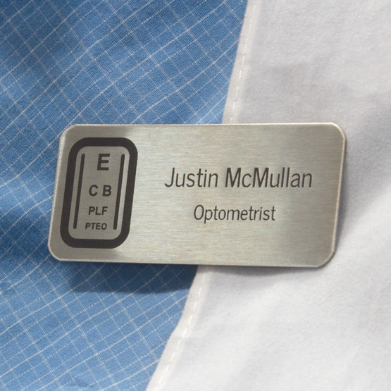 Stainless Steel Medical Name Tag