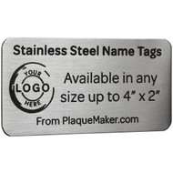 Stainless Steel Name Tags