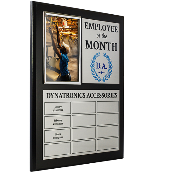 employee of the month perpetual plaque - Employee Of The Month Award