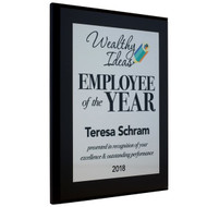 Employee of the Year Award Plaques - Style 1
