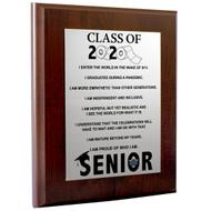 Class of 2020 Plaque