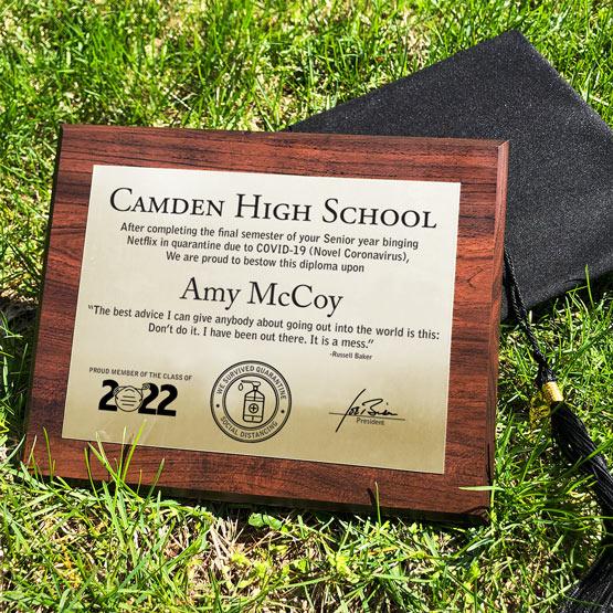 2020 Funny TP Diploma