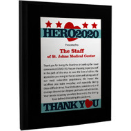 2020 Hero Plaque