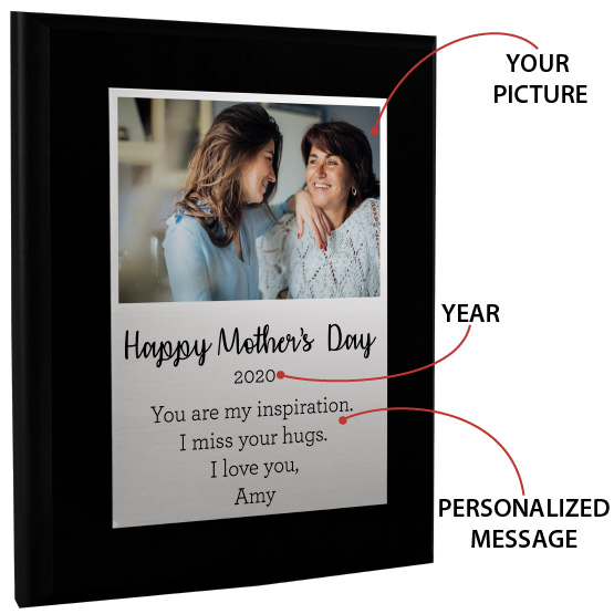 Mother's Day Plaque Info