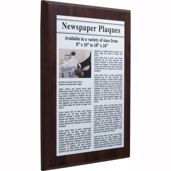 Newspaper Plaques
