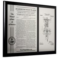 Boardroom Patent Plaque
