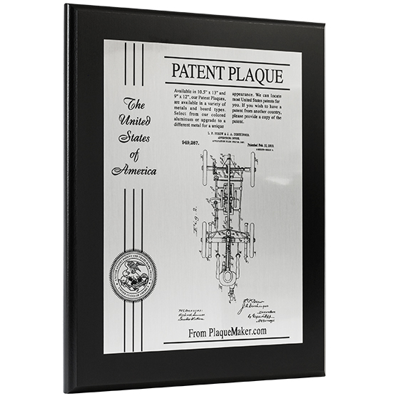 Ships Today: Patent Plaque