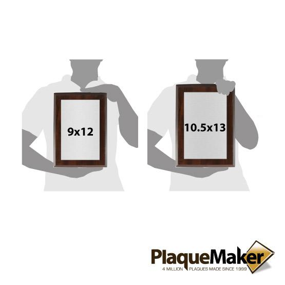 Patent Award Plaques Sizes