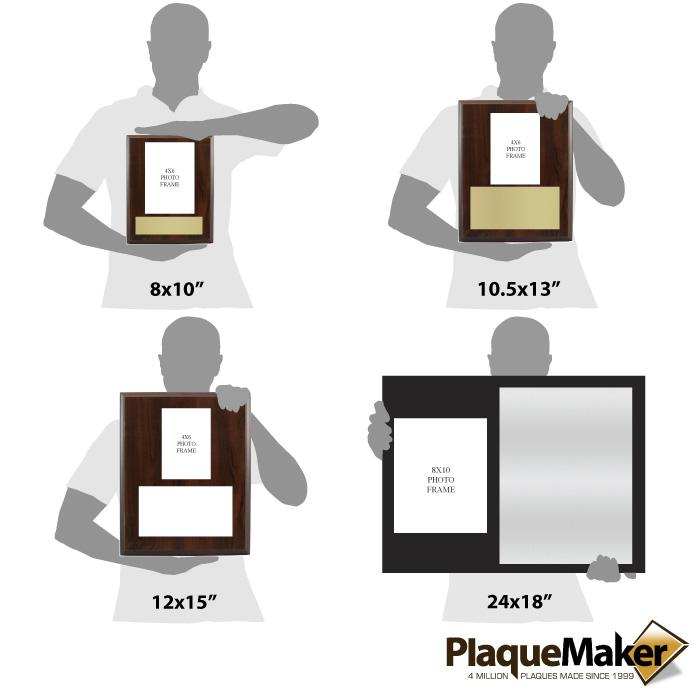 Picture Frame Plaque Size Chart