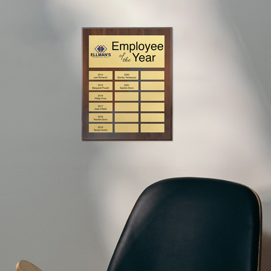 Executive Perpetual Plaque