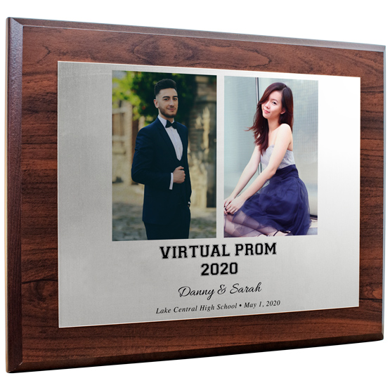 2020 Virtual Prom Aluminum Plaque