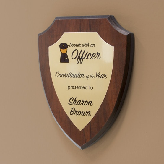 Shield Plaque