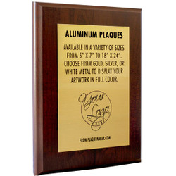 Ships Today: Sublimated Plaque